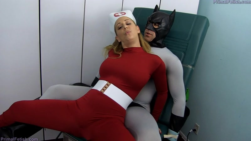 Primal's Darkside Superheroine – Battman – Captured and Milked XXX  [Nurse Play, FORCED MALE ORGASM, FEMDOM]
