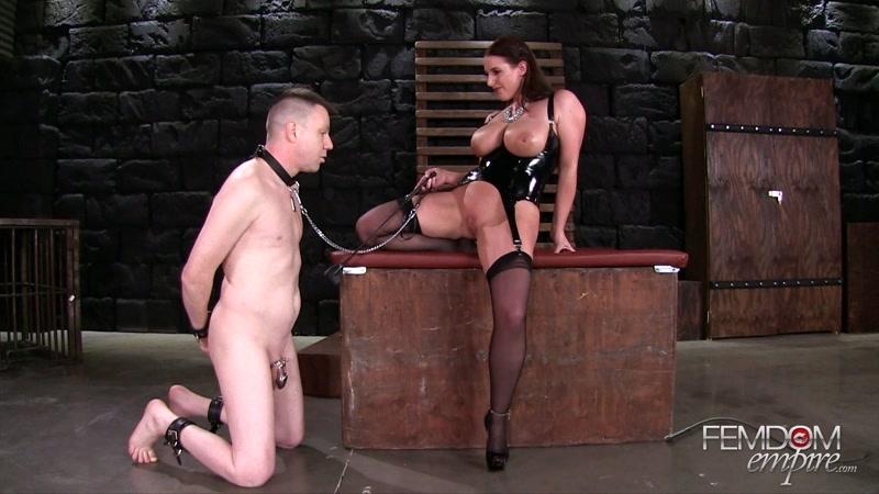 VICIOUS FEMDOM EMPIRE – Angela's Ass Licker. Starring Mistress Angela White  [ass worship, FEMDOM, VICIOUS FEMDOM EMPIRE]