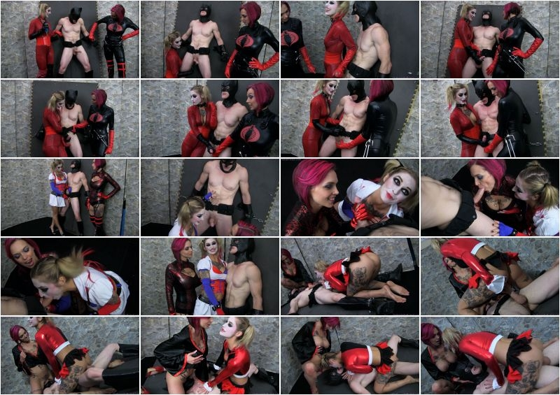 Primal's Darkside Superheroine – Batman Milked and Executed XXX  [FORCED EJACULATIONS, SUPERHEROINES, PUSSY EATING]