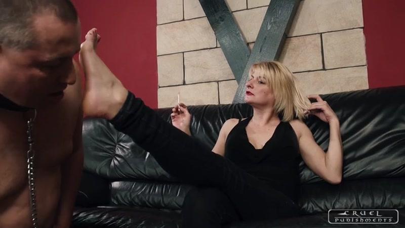 CRUEL PUNISHMENTS – SEVERE FEMDOM – Sole and armpit licking. Starring Mistress Bonnie  [Elegant Femdom, boot worship, HARD FACE SLAPPING]