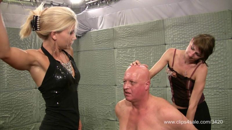 Elegant femdom – At the mercy of Zita and Bonnie. Starring Mistress Zita and Mi…  [face slapping, Mistress Zita, Elegant Femdom]