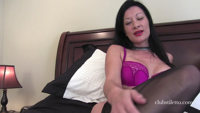 Club Stiletto FemDom – Hubby's First Shecock. Starring Mistress Jasmine and Vancouver Kinky Dominatrix  [cuckolding, transsexual, Club Stiletto FemDom]