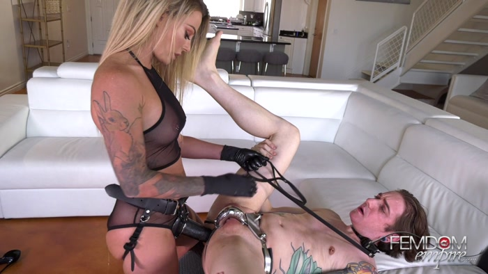 Watch or Download - Femdom Empire - Isabelle Deltore - Anal Correction - fucking, strapon sucking, strapon worship - Release [17-03-2019]