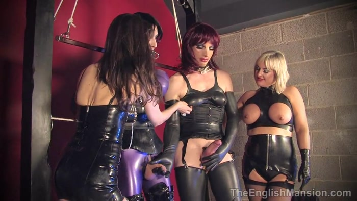 TheEnglishMansion -Miss Kinky, Lady Nina - Frame Bound - men wearing panties, men wearing
