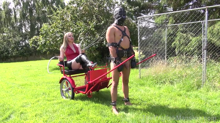 The English Mansion - Mistress Sidonia  - More Blind Obedience  Part 1-4 - WOMAN, EXTREME DOMINATION, k2s.cc
