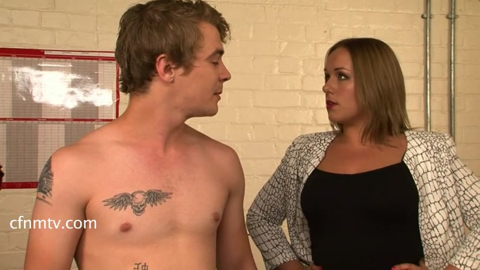 Cfnmtv - The Office Thief (Stripped and Searched) (part 1-3) - male, clothed female nude male