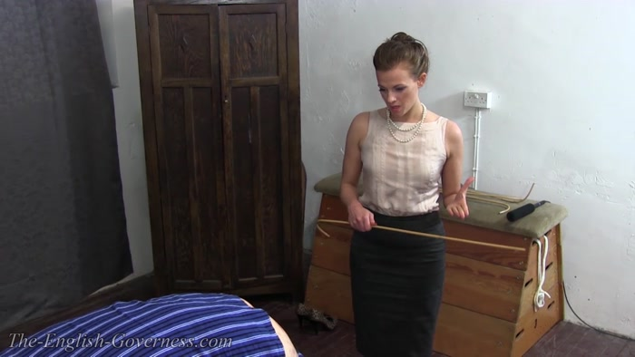 The English Governess - Governess Granger Harsh School Discipline  Part 1 - bottom spanking, slave torture, punishment