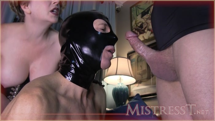 Mistress T - Cuckolds Bi Torment and Pegging  Part 1-2 - Mistress T, Bisexual, cum licking